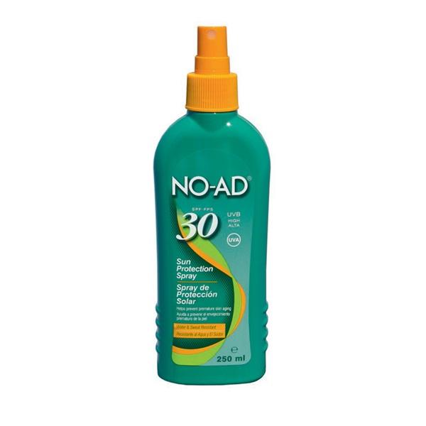 No-Ad Zonnebrand Sunspray Factor 30 voorkant
