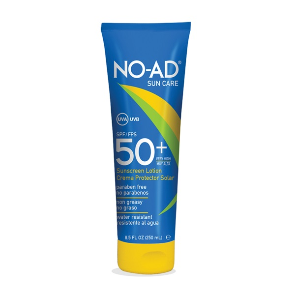 No-Ad Zonnebrand Sun Protection Factor 50 voorkant