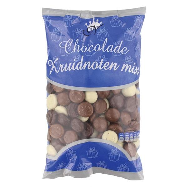 Nijverheid kruidnoten chocolade mix  voorkant