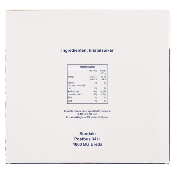 Sundale Suikerklont Extra Groot achterkant