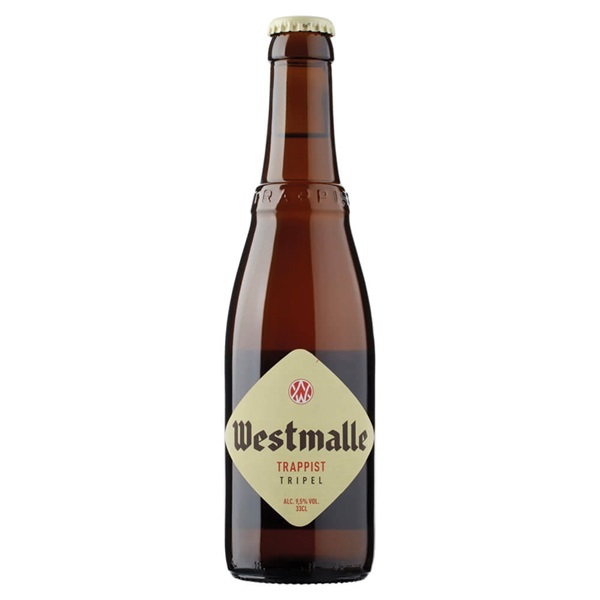 Westmalle Bier Tripel voorkant