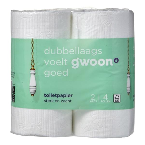 Gwoon toiletpapier 2-Laags voorkant
