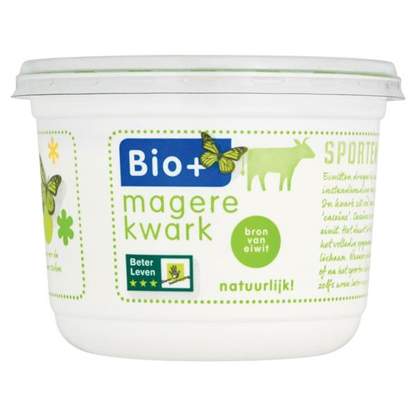 Bio+ Magere kwark voorkant