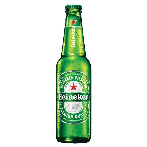 Heineken Bier Pijpjes Fles 30Cl voorkant