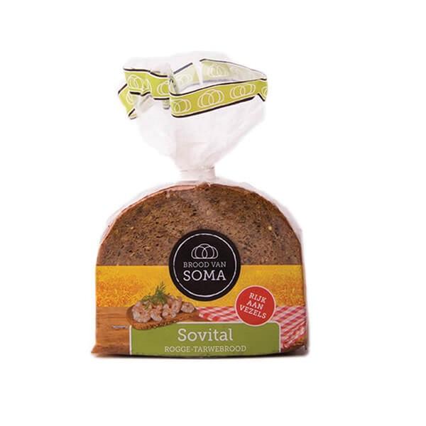 Soma Roggebrood Sovital voorkant