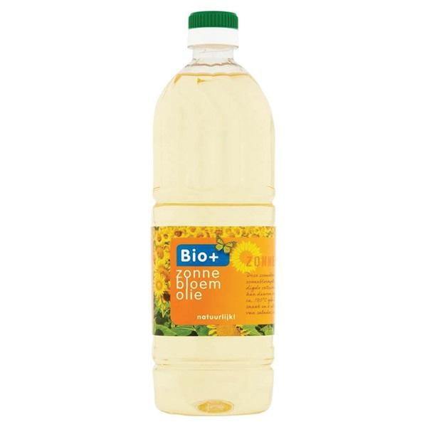 Bio+ Zonnebloemolie voorkant