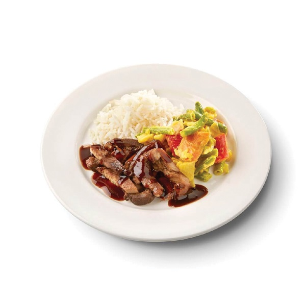 Culivers (108) babi ketjap, karee djawa en witte rijst zoutarm voorkant