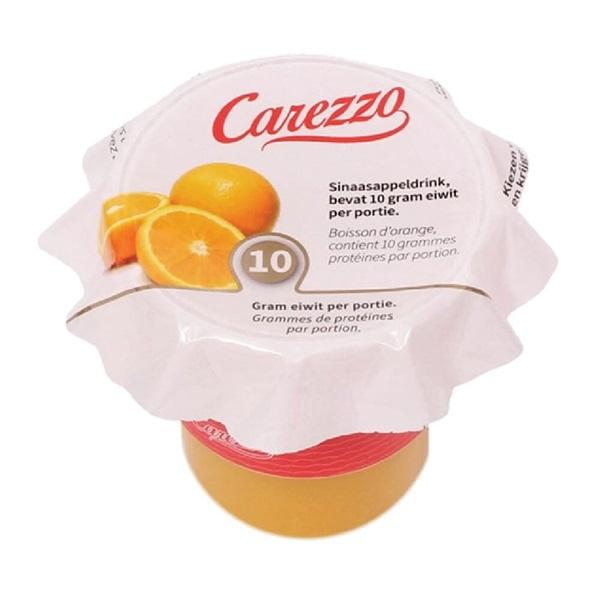 Culivers Carezzo (1) sinaasappelsap eiwitverrijkt voorkant