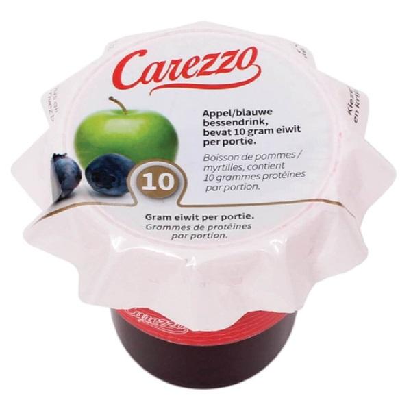 Culivers Carezzo (3) appel-, blauwe bessensap eiwitverrijkt eiwitverrijkt voorkant