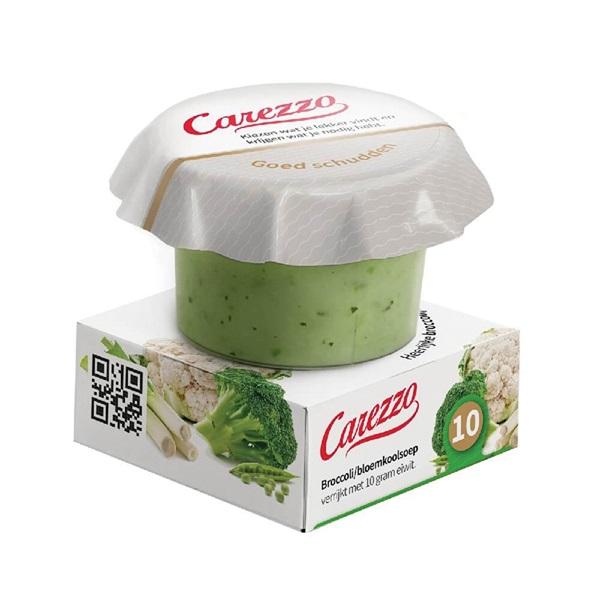 Culivers Carezzo (5) broccoli-, bloemkoolsoep eiwitverrijkt eiwitverrijkt voorkant