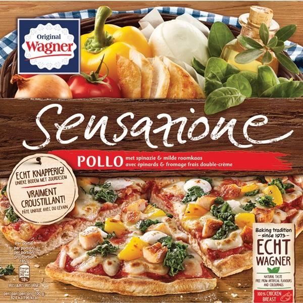 Wagner Sensazione Pollo spinaci voorkant