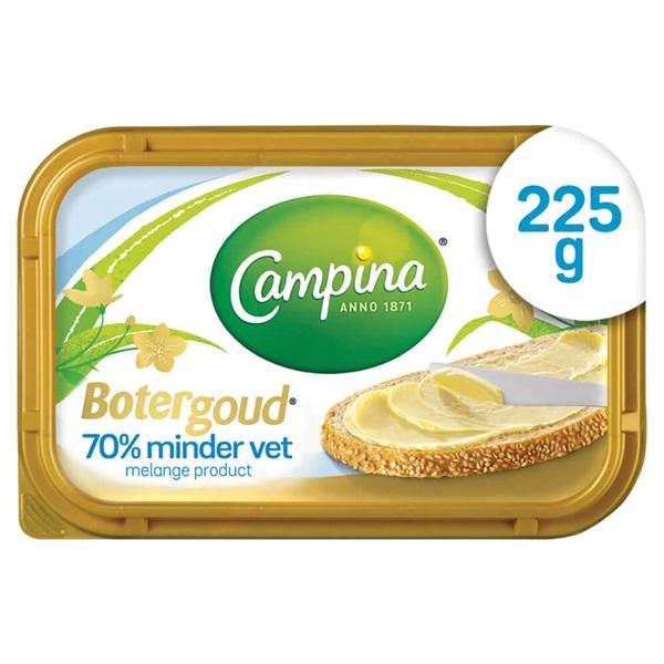 Campina Botergoud 70% minder vet voorkant