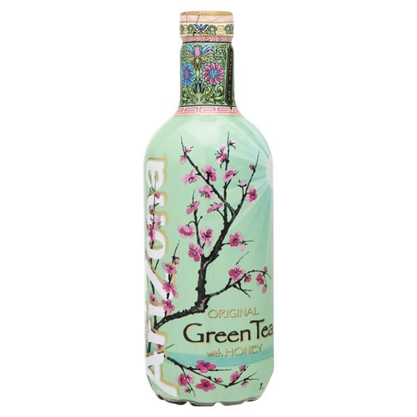 Arizona Ijsthee Green Tea voorkant
