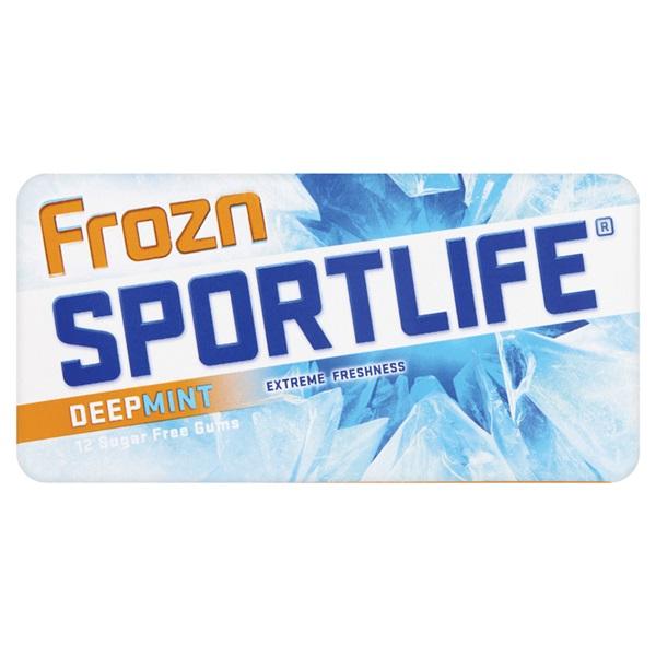 Sportlife Kauwgom Deepmint single voorkant
