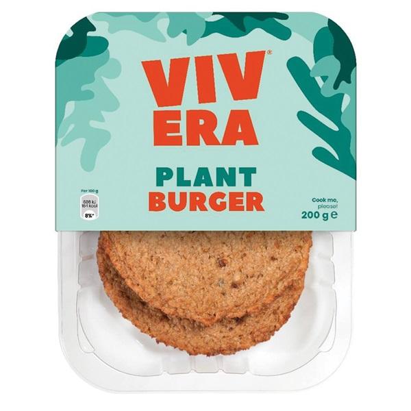 Vivera vegetarische burgers voorkant