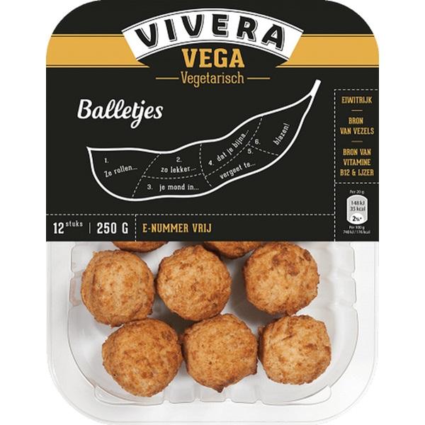 Vivera vegetarische balletjes voorkant