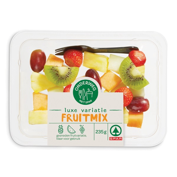 Spar luxe variatie fruitmix voorkant