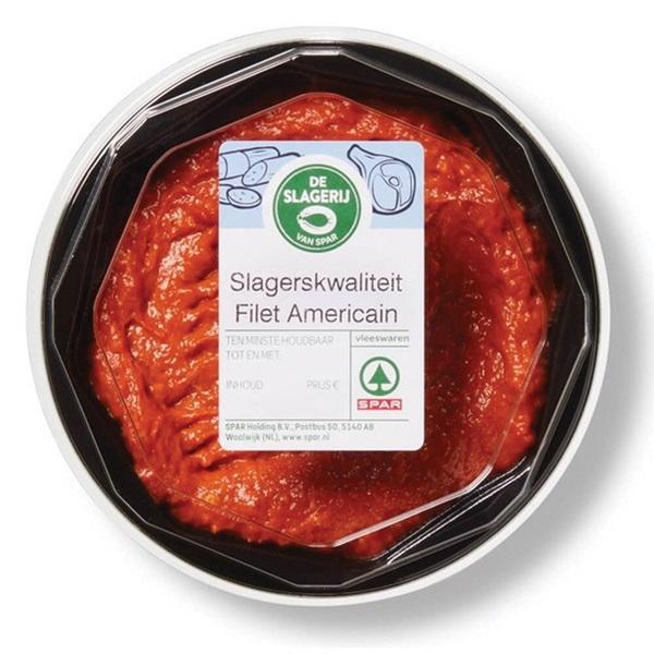 Spar filet americain slagers voorkant