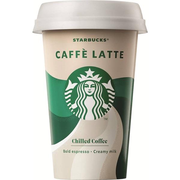 Starbucks chilled classics caffe latte voorkant