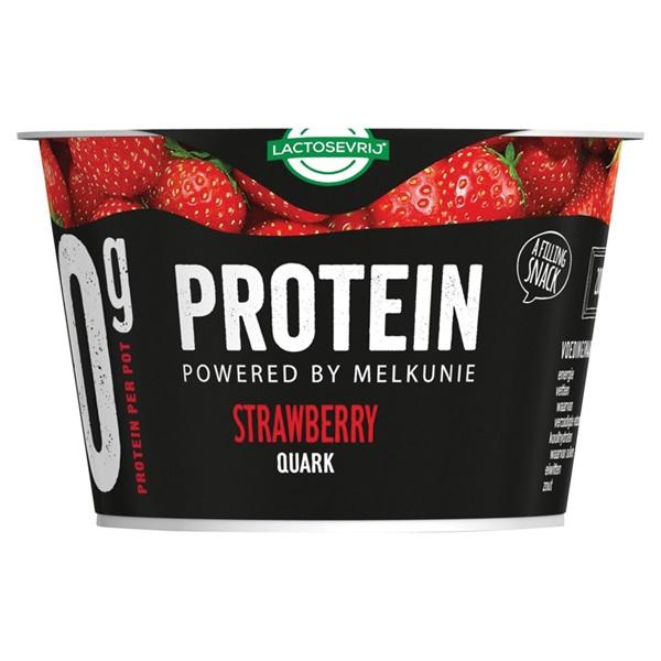 Melkunie protein aardbei voorkant