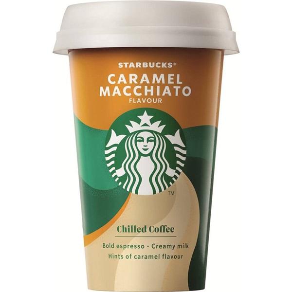 Starbucks chilled classics caramel macchiato voorkant