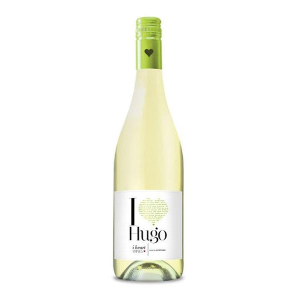 I Heart Hugo wijn voorkant