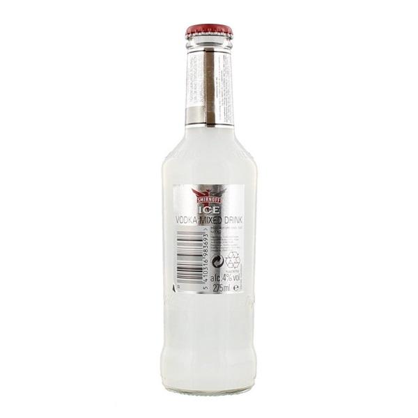 Smirnoff Vodka Ice achterkant