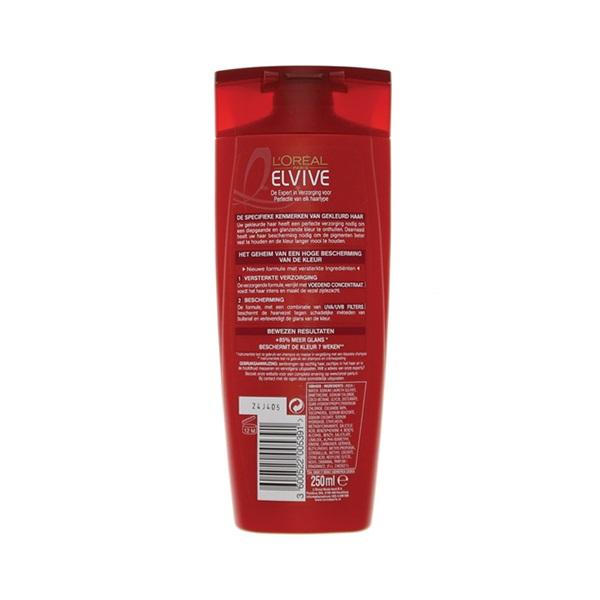 Elvive Shampoo Color achterkant