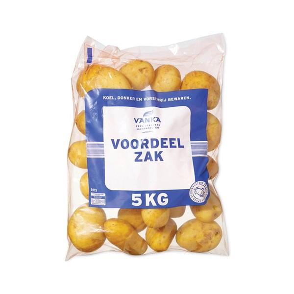 aardappelen voordeelzak voorkant
