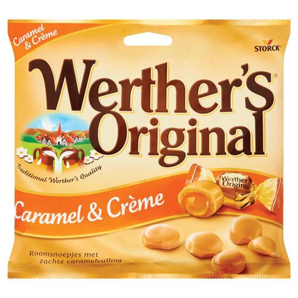 Werther's Original Toffee Caramel En Crème voorkant
