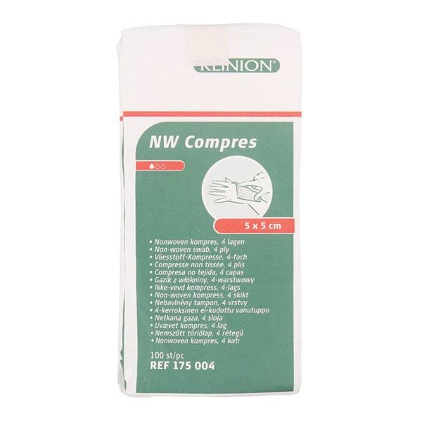 Compress NW 5 x 5cm voorkant