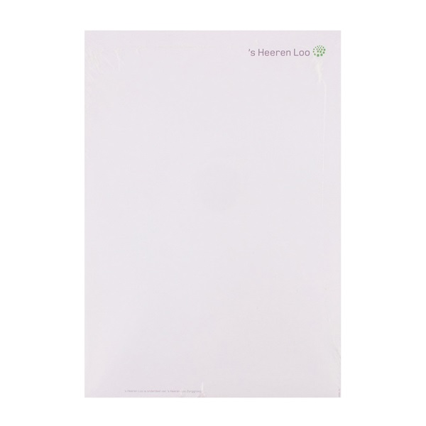 Briefpapier 250 stuks voorkant