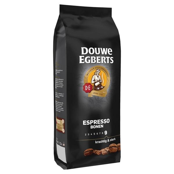 Douwe Egberts Koffiebonen Espresso achterkant