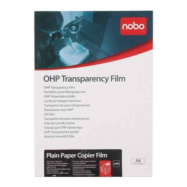 transparant Film Nobo voorkant