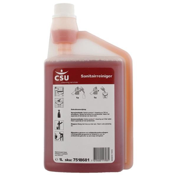 Sanitairreiniger 2 liter voorkant