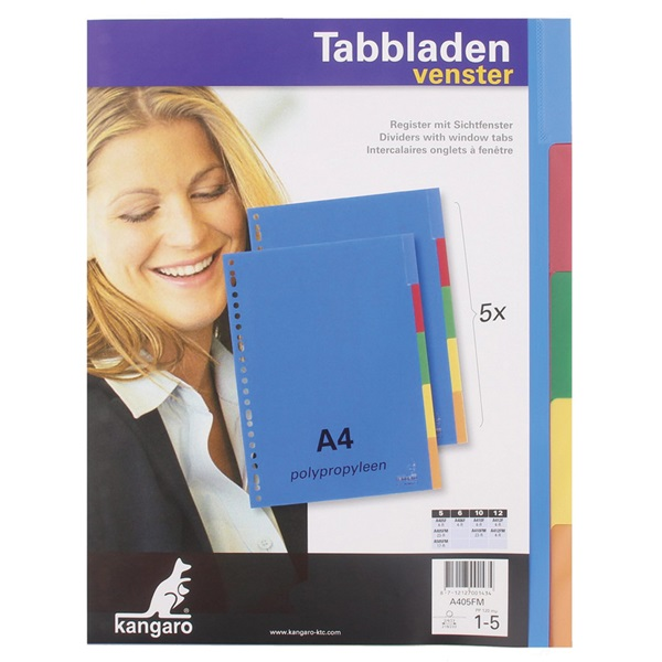 Tabblad gekleurd voorkant