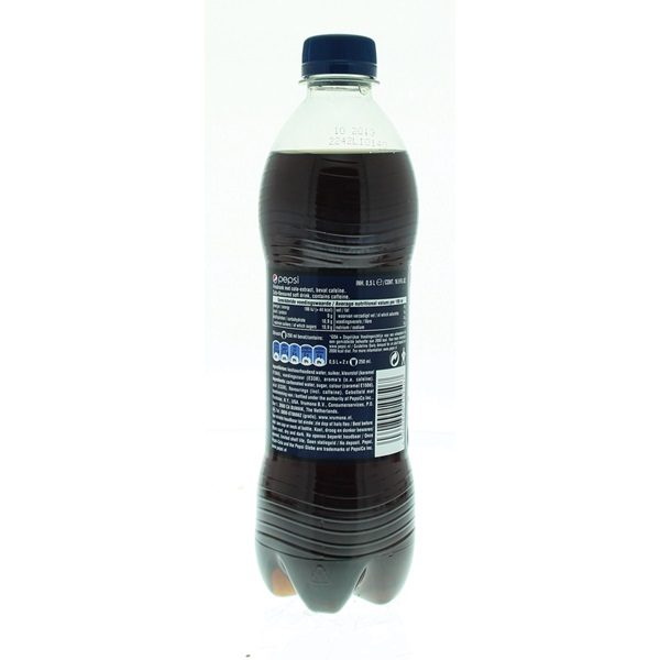Pepsi Cola Regular achterkant