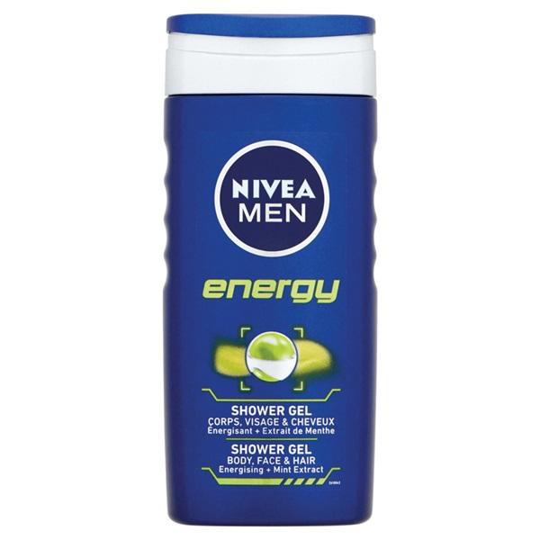 Nivea For Men Douchegel Energy voorkant