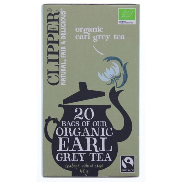 Clipper Thee Organic Earl Grey Tea voorkant