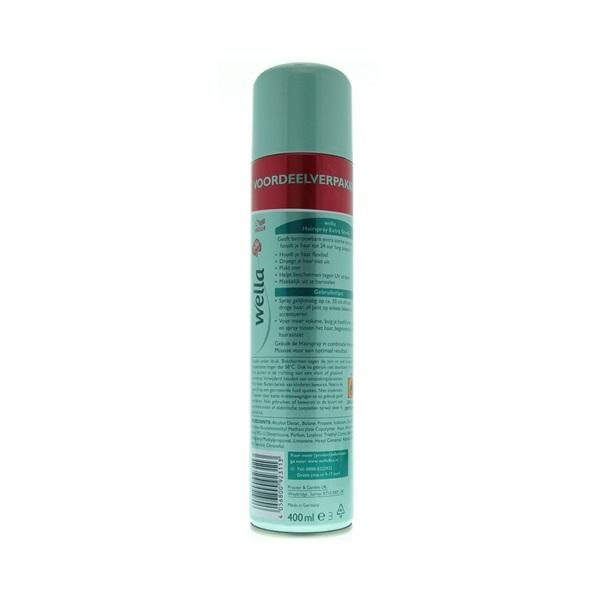 Wella Hairspray Extra Strong achterkant