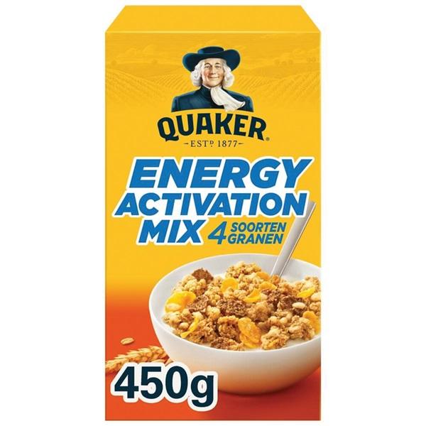 Quaker Cruesli Energy Mix Naturel voorkant