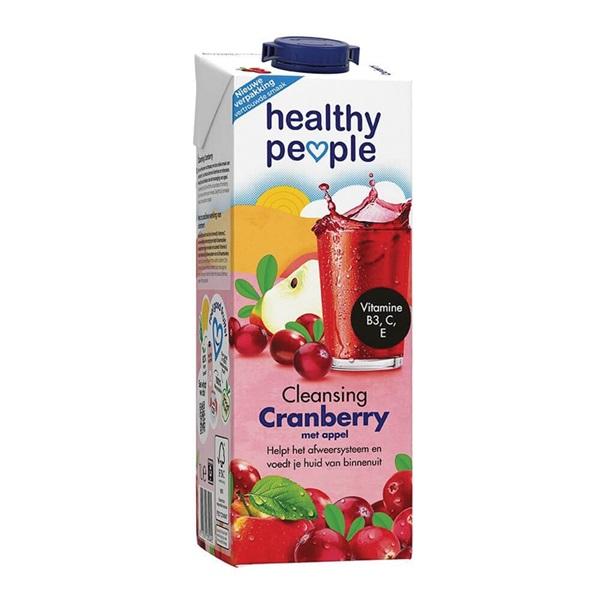 Healthy People Vruchtensap Cranberry voorkant