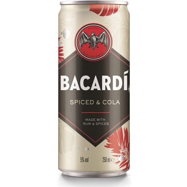 Bacardi Oakheart Cola voorkant