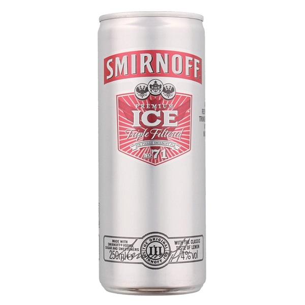 Smirnoff Vodka Ice voorkant