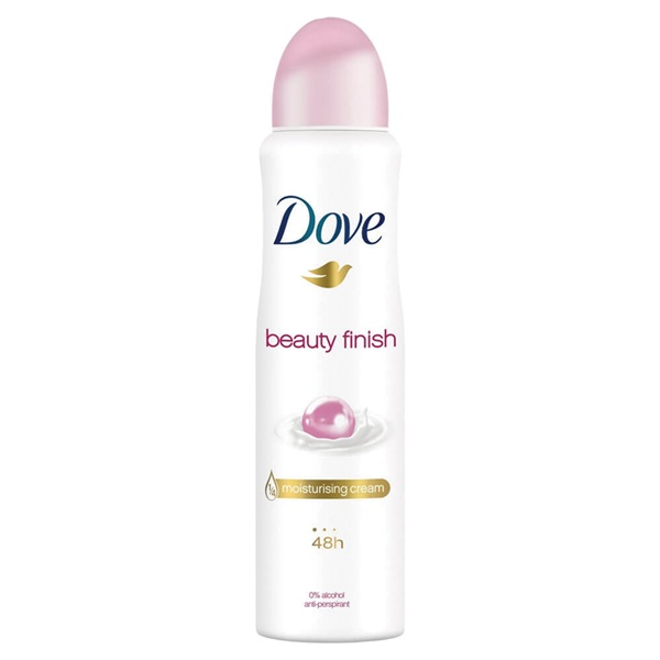 Dove Deospray Beauty Finish voorkant