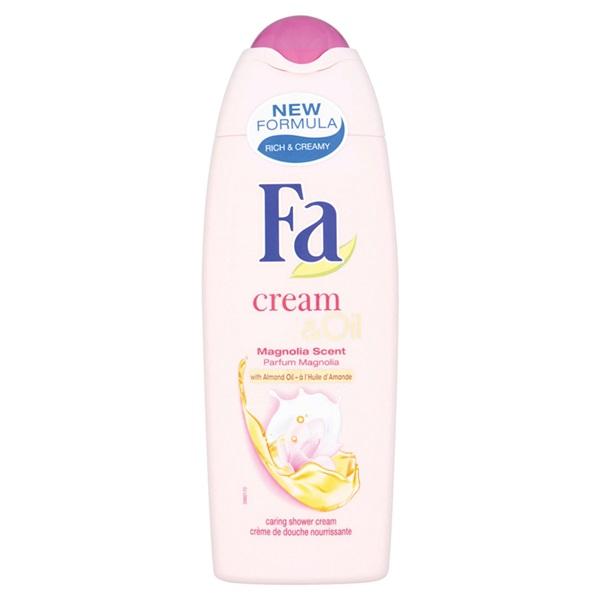 Fa Cream & Oil Douche Silk Magnolia voorkant