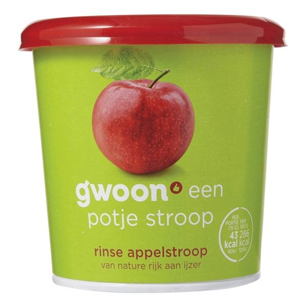 Gwoon appelstroop rinse voorkant
