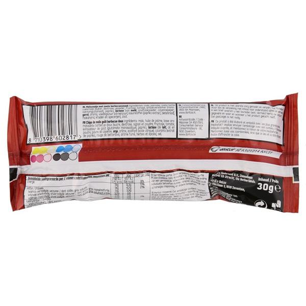 Doritos Chips Bits Honey Bbq achterkant