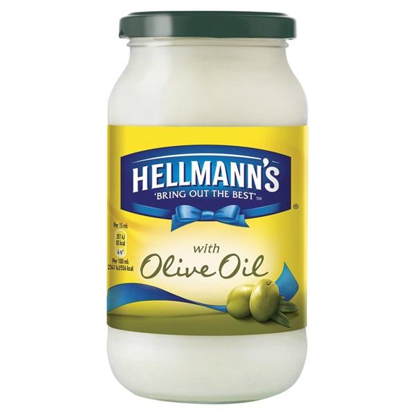 Hellmann'S Mayonaise Olijfolie voorkant