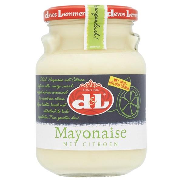 Devos -Lemmens Mayonaise Citroen voorkant